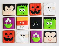 Halloween Cookies --NO cutter required!