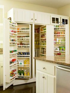 Free Standing Kitchen Pantry Design Cabinets Organization