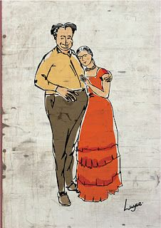 aw, Diego & Frida, all you needed was passionate/crazy love. Luyse