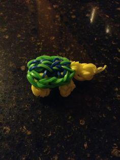 Turtle crazy loom:easy