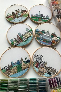 FaimyxStitch - architectural hand embroidery patterns by FaimyCrossStitch Hand Embroidery Art, Cross Stitch Embroidery, Cross Stitch Patterns, Stitching Patterns, Embroidery Ideas, Petersburg Russia, Saint Petersburg, Creative Wall Decor, Pattern Sketch