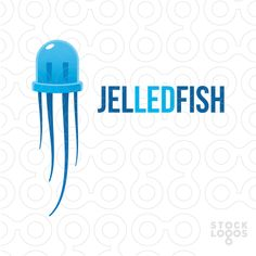 The logo mark is based on a certain resemblance between a LED light and a jellyfish, and depicts a hybrid creature that may become a mascot for your business.