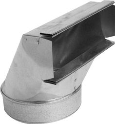 Speedi-Products - 12 in. x 7 in. Wall Stack 90 Degree Boot - With insulate ductwork for improved energy efficiency, this 7 in. wall stack 90 degree boot transitions rectangular wall stack ducting to round sheet metal pipe.