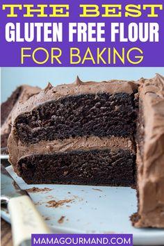 Gluten Free Sugar Cookies, Gluten Free Flour, Gluten Free Cakes, Gluten Free Baking, Dairy Free Gluten Free Desserts, Healthy Baking, Sugar Free, Easy No Bake Desserts, Köstliche Desserts