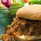 I made this tonight with Boca Crumbles instead of ground beef. I used 1/2 C ketchup & 1/4 C BBQ sauce instead of 3/4 C ketchup. Also added 2 celery stalks, 1 tsp worcestershire, 2 tsp white vinegar, 1-2 Tb tomato paste, and a pinch of red pepper flakes. Serve on a toasted bun & welcome to yum city dude!