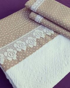 143 Likes, 7 Comments - Patish Baby Bedding Sets, Crib Bedding, Linen Bedding, Cushion Cover Designs, Textiles, Filet Crochet, Ribbon Embroidery, Baby Decor, Beautiful Bedrooms