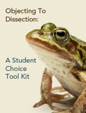 "Alternatives to dissection: kit that includes a model to ""dissect"" rather than encouraging the killings of millions of animals. I teach my children that every life is important, and that it is wrong to kill an animal unnecessarily."
