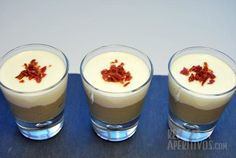 Receta Crema de Setas con Camembert en Vasitos