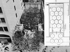 Paley Park Zion and Been Associates Urban Landscape, Landscape Design, Garden Design, Urban Design, Modern Design, Urban Rooms, Pocket Park, European Garden, Urban Park