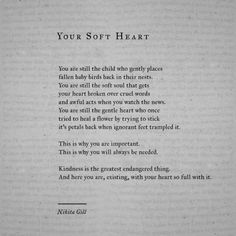 Hey, I'm Nikita Gill and here is where all the poetry, prose and quotes I write are. All poetry,...