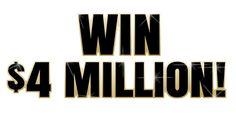 PCH Contest - Win $4 Million!