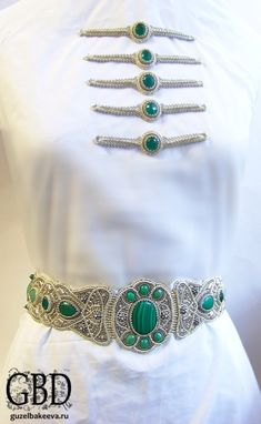 Bead Embroidery Jewelry, Ribbon Embroidery, Macrame Jewelry, Diy Jewelry, Wedding Belts, Thread Jewellery, Bead Art, Bead Weaving, Beaded Belts