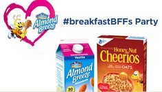 FREE Breakfast BFF's Party Kit  (apply to host a party, includes Honey Nut Cheerios, Almond Breeze, tote bag, bracelet kit, and more)  LINK HERE>> https://www.freebiequeen13.net/free-samples.html