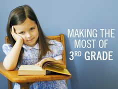 "Third grade can be a make-or-break benchmark. What's so special about being ""Great at 8,"" the age when kids usually finish third grade? It's at the end of third grade that life is about to get a lot more complicated."