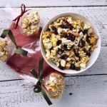 Aszalt gyümölcsös popcorn labda