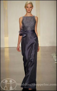 suggested as a mother of the bride dress-may be a little too formal, but definitely something to consider!