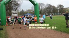 Impressionen Start Halbmarathon @ 30. Forstenrieder Volkslauf 2016 am 09...