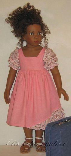Авторские куклы Элизабет Линднер (Elisabeth Lindner dolls), Puppen mit Herz. История, рассказанная сердцем / Авторская кукла известных дизайнеров / Бэйбики. Куклы фото. Одежда для кукол