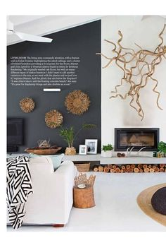 The hottest trends for Take a look inside October Home Beautiful October 2018 issue of Home Be House Design, Interior, Living Room Decor, Home Decor, House Interior, Home Renovation, Home Interior Design, Interior Design, Farmhouse Side Table