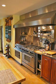 Etonnant Hood   Restaurant Style   A Kitchen Addition   Mediterranean   Kitchen    San Francisco