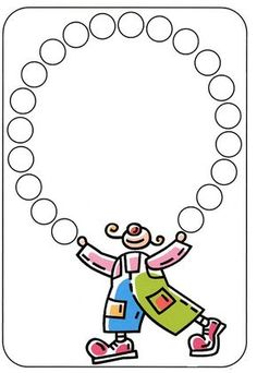 Risultati immagini per bricolages cirque Preschool Circus, Theme Carnaval, Clown Crafts, Es Der Clown, Do A Dot, Tracing Worksheets, Circus Theme, Preschool Activities, Mardi Gras