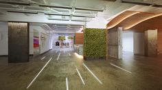 real and artificial plants for commercial office.  TSEH Architectural Group