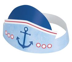 Off: Nautical Pals Party Hats - 6 Pk Party Supplies Canada - Open A Party First Birthday Party Supplies, 1st Birthday Hats, Boy First Birthday, First Birthday Parties, Birthday Party Themes, Nautical Party, Party Accessories, Childrens Party, Playing Games