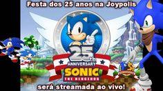 Festa dos 25 anos na Joypolis  Será streamada ao vivo !