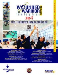 Wounded Warrior Team Navy trials begin next week! Come cheer on our Wounded Warriors! Naval Station Norfolk, Wounded Warrior, Get Excited, Next Week, Trials, Warriors, Cheer, Navy, Hale Navy