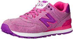 New Balance Women's WL574 Glitch Pack Sneaker on shopstyle.com
