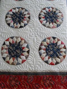 Love this block and the quilting is fab