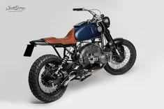 """Hurricane"" by South Garage Motor Co. (from Otto Nero) Bmw Motorbikes, Bmw Motorcycles, Custom Motorcycles, Custom Bikes, Cafe Bike, Bmw Cafe Racer, Cafe Racers, Brat Cafe, Bmw Scrambler"