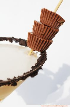 Reese's Peanut Butter Cup Martini Cocktail Recipe