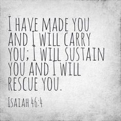 Isaiah 46:4