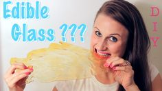 Make your own edible glass! This science experiment is so fun and is super easy!