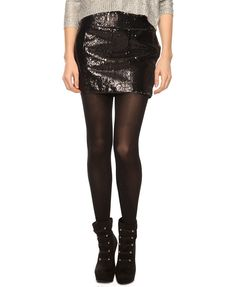 Two-Tone Sequin Skirt | FOREVER21 - sale: $16.99