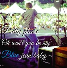 Blue jean baby - Scotty McCreery I made this! I can do other songs, just comment!