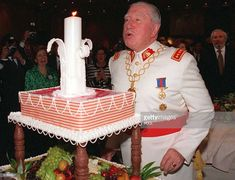 General Augusto Pinochet blows out the candle atop his birthday cake celebrating his 80th birthday 26 November in Santiago. Pinochet, who is still head of Chile's powerful army, overthrew Socialist president Salvador Allende in a bloody 1973 coup that cost Allende his life. Hundreds of Chileans disappeared during the 17 years that Pinochet ruled Chile.