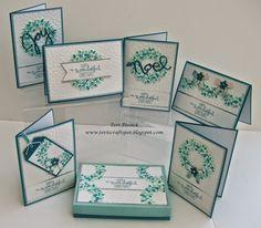 Wondrous Wreath - Christmas Card Set