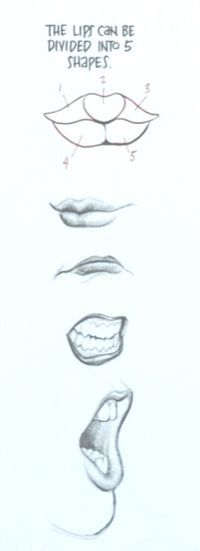 lips tutorial by Frank Cho
