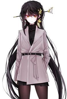 You are Suna Mizuki. Suna Rintarō's Little sister. You are a Prodigy … #fanfiction #Fanfiction #amreading #books #wattpad Anime Girl With Black Hair, Dark Anime Girl, Manga Anime Girl, Cool Anime Girl, Pretty Anime Girl, Anime Girl Drawings, Beautiful Anime Girl, Anime Artwork, Kawaii Anime Girl