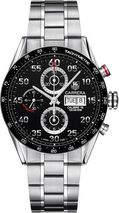 Tag Heuer Carrera Calibre 16 day date automatic chronograph 41 mm