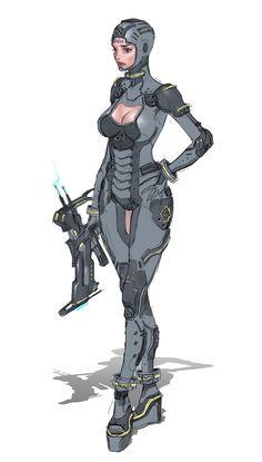 ArtStation - Character Concept - Study, JG Yoon