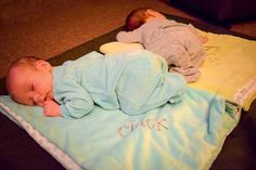 """HOW SWEET!  """"The boys love their blankets! """" Visit LifeMadeChic for your personalized blanket!   https://www.etsy.com/listing/222733189/39-x-29-minky-blanket-with-free?ref=shop_home_active_6"""