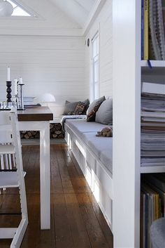 white living (via Lovenordic Design Blog: Don't you just love Per Gunnarsson's work?)