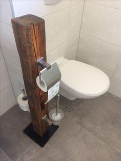 WC-Garnitur Holzbalken Insence Holder, Wc Set, Diy Home Decor Bedroom, Centerpiece Decorations, Diy Storage, Sink, Cool Stuff, Bathroom, Inspiration