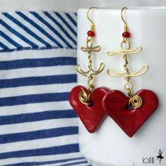 loliti handmade earings ♥ https://www.facebook.com/loliti.studio