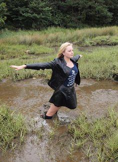 Black Thigh Boots, Thigh High Boots Heels, Knee Boots, Heeled Boots, Mudder, Mudding Girls, Hunter Wellies, Rainy Day Fashion, Wet Look