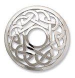 Celtic Everlasting Knot brooch