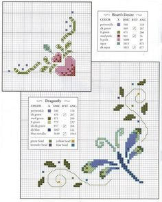 Pin by Knutselbuts . on Cross-stitch | Pinterest | Cross stitch ... Pinterest.com 409 × 512 Knitting patterns · Dragonfly Cross StitchHeart
